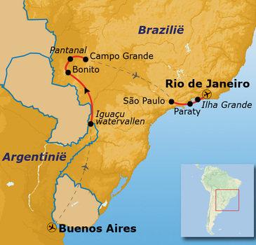 Argentinie en Brazilie