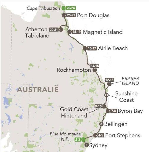kidsreizen australie