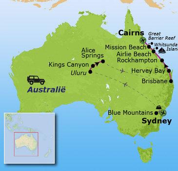 reizen met kinderen australie